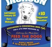 Jams for Jackson:  Sat. January 26, 2013 8:00pm-12:00am