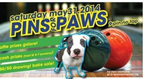 Pins for Paws!! Saturday, May 31st