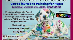 Painting for Pups!! Hosted by Paws 4 Pride!!