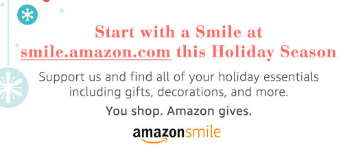 Use Amazon Smile for all your Holiday Shopping!