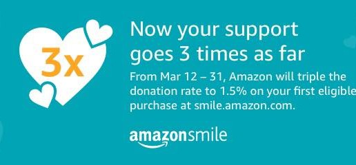 Amazon Smile! *March Special*